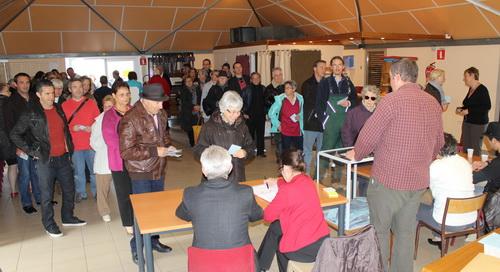 Forte mobilisation des électeurs buxois venus nombreux dimanche matin