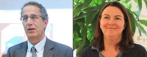 Pierre Combes et Pascale Rochas.