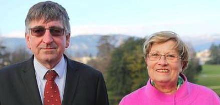 Francis Kornprobst et Françoise Bec.