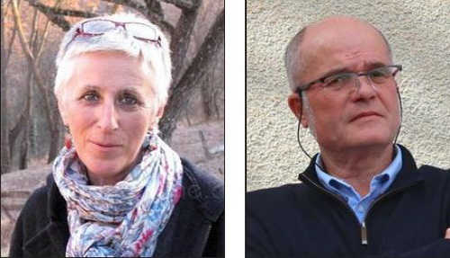 Josette Fournié et Alain Delhomme